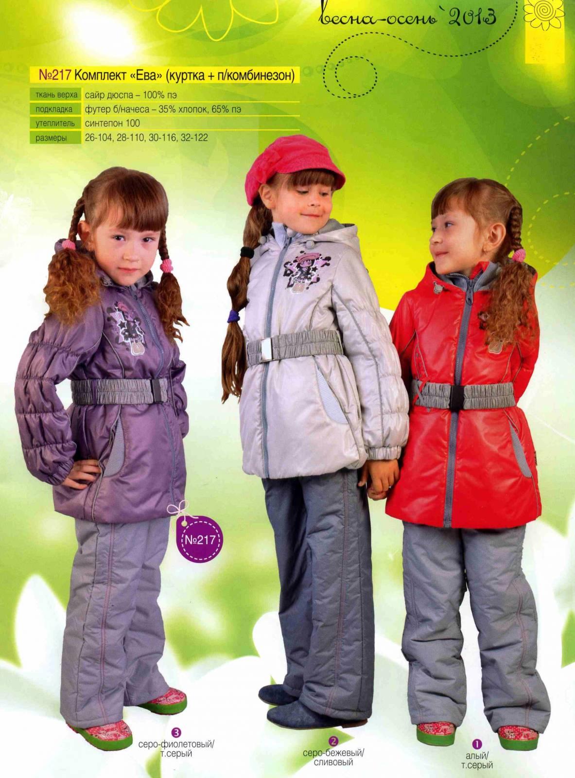 Каталоги Детская Верхняя Одежда